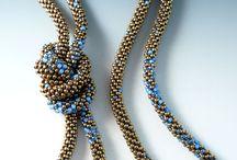beads. lariat