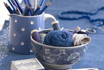 Aesthetic: indigo blue