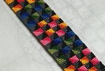 Friendship bracelets - photos others people / Photos friendship bracelets's, which I like.