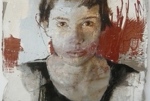 Massimo Lagrotteria - No title - cm 50x50 oil on paper