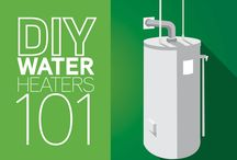 Water Heaters / Everything you need to know about your water heater, maintenance, and new water heater regulations.