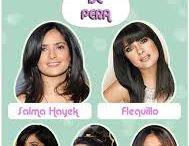 rostro pera / tips para rostro  con forma de pera