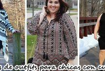 Mira como puedes vestir si eres una chica con curvas