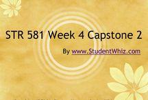 STR 581 Week 4 Capstone 2