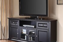 TV cabinet ideas / by Rachael Tallerico