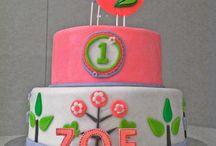 1st Birthday Cake for Francie
