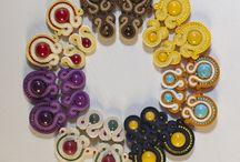 Kolczyki soutache / Projekty kolczyków marki Ach biżuteria