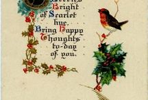 Christmas Cards / A collection of Christmas cards.