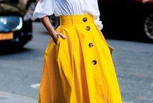 С чем носить длинную юбку летом: ТОП-7 модных решений