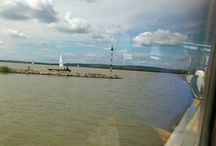 Jazero Velence / Výlet na prekrásnom jazere v Maďarsku