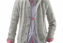 orgu erkek ceketi