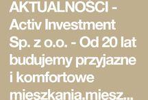 Aktualności Activ Investment