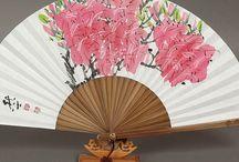 Abanico flor azalea
