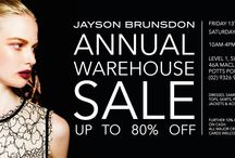 Jayson Brunsdon Annual Warehouse Sale