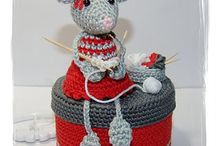 Crocheted mice