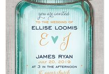 Rustic Wedding / rustic wedding inspiration - mason jars, burlap, kraft paper, lace and so much more