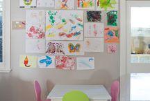 Kid Art displays