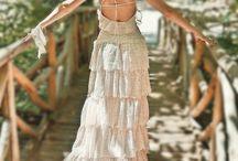 Boho wedding / Bohemian, Vintage, Hippy chique weddings / by atraceofblue