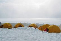 Into the cold / Antarctic landscapes