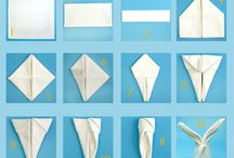 origamit ja servietit