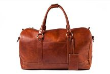 3.7.6. Weekender Bag WHM03 (315189) / Ginger natural leather, black fabric inside. Size (mm) 550 x 240 x 270. www.376style.com