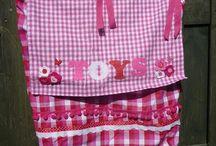 Box kleden en speelgoedzakken