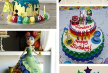 Inside out Party Ideas /  Fun and colorful Inside Out Party! Ideas! Celebrate your feelings and your colourful side with this birthday party!