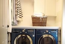 Laundry room / by Emily Brown