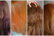 Éclaircir les cheveux