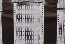 Punch card knittig machine