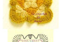 Crochet Granny Squares / Crochet Patterns