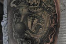 Genbu Tattoo Work!! / North-Blood Genbuによって制作された、Black&Grey Tattooの数々を紹介致します。 #tattoo #blackandgrey #chicano #chicanotattoo
