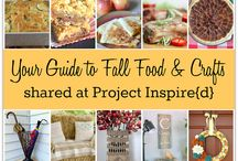 All Things Fall / Fall Crafts, Decor, and Recipes