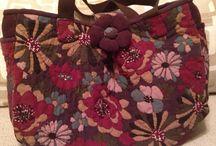 Kumaş çanta-cloth bags / Kendi diktiğim çantalar bu panoda yer almaktadır.