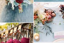 wedding ideas / wedding colors and ideas Fall colors and inspired