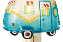 Vintage Trailer Fun Accessories / Be sure and check out all of our popular curtain valances and tiers that can transform your trailer to vintage, western, lodge & fish camp, to eclectic... rag rugs, dishtowels, night lights, and accessories galore.... camping fun from CountryPorch.com