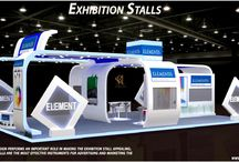 Exhibition Stalls / An Exhibition Design performs an important role in making the exhibition stall appealing. The exhibition stalls are the most effective instruments for advertising and marketing the brand in public.