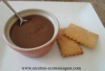 crème danette chocolat