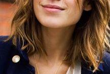Haarschnitt Mittellang