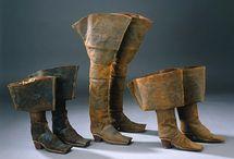 buty XVII wiek
