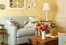 Living room redo / by Elm Fotographie