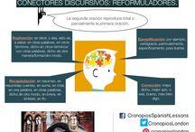 Conectores discursivos | Linking words