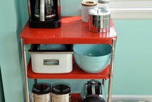 My red and turquoise kitchen / by Heidi Parker