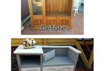 Recycled tv units