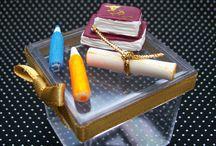 LEMBRANCINHAS PARA FORMATURA EM ABC / LEMBRANCINHAS VARIADAS PARA FORMATURA EM ABC. http://www.elo7.com.br/ateliedoriartes/loja