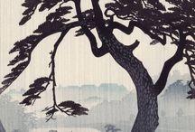 oriental art: landskape