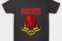 GUNDAM TSHIRT / get it on www.garistipis.com