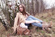 Outfits: Herbst / Kuschelig warm im nass-kalten Herbst. Inspirationen gibt's auf www.heytheredaisy.com