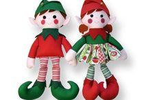 elfi bambole varie