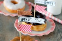 Donut Party Theme